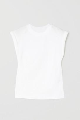 RtA Kairi Cotton-jersey T-shirt - White