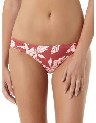 No Boundaries Juniors Colorblock Jungle Scoop Bikini Bottom