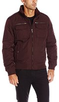 Tommy Hilfiger Men's Poly-Twill Performance Bomber Jacket