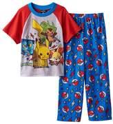 AME Sleepwear Pokemon Boy's Size Pikachu, Fennekin, Chespin Pajama Set