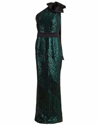 Safiyaa Gwendolyn Sequin Gown