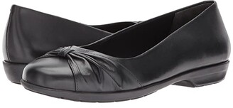 Walking Cradles Fall (Black Leather) Women's Shoes