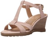 Rockport Women's GARDEN COURT T-STRAP Wedge Sandal