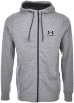 Under Armour Full Zip Sportstyle Logo Hoodie Grey
