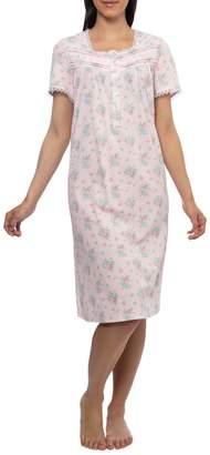 Jasmine Rose Printed Cotton Nightgown