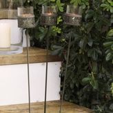 The White Company Cutwork Metal Tealight Stakes