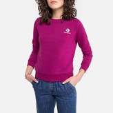 Converse Cotton Mix Sweatshirt with Embroidered Star Chevron Logo