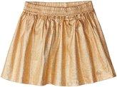 Little Marc Jacobs Iridescent Twill Skirt (Toddler/Kid) - Cuivre Rose - 2A