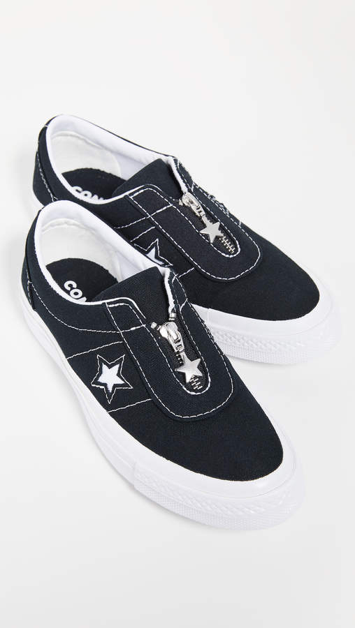 converse one star slip on