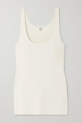 Totême Urda Knitted Tank - White