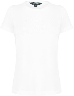 Lauren Ralph Lauren Hailly Short Sleeve Tee