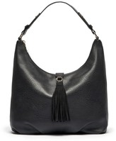 Sole Society Myers Crescent Hobo with Suede Tassel