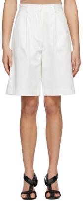 Esse Studios Off-White Tailored Shorts