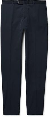 Incotex Urban Traveller Navy Slim-Fit Tech-Twill Trousers