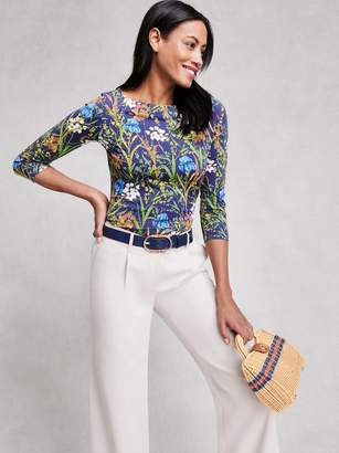 J.Mclaughlin Wavesong Tee in Midnight Floral
