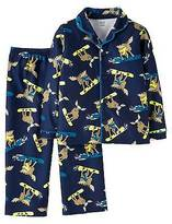 Just One You®; made by Carter's Toddler Boys' Long-Sleeve Fleece Coat Pajama Set Moose - Just One You;Ma...
