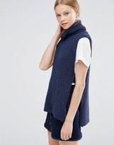 Vero Moda Rollneck Gillet Sweater