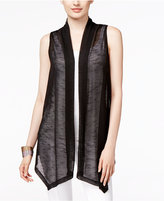 Alfani Long Open-Front Vest, Only at Macy's