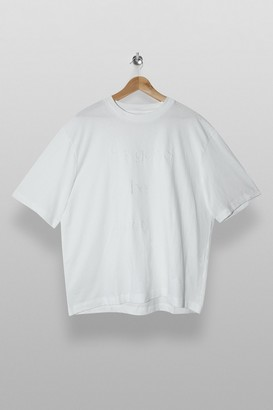 Topman Womens It'S Good T-Shirt In White - White