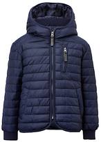 John Lewis Boys' Raveen Puffer Quilted Jacket, Navy