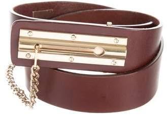Chanel Leather CC Belt
