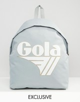 Gola Exclusive Classic Backpack In Gray And White