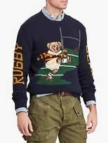 Polo Ralph Lauren Rugby Bear Sweater, Navy