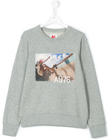 American Outfitters Kids teen skate print sweatshirt