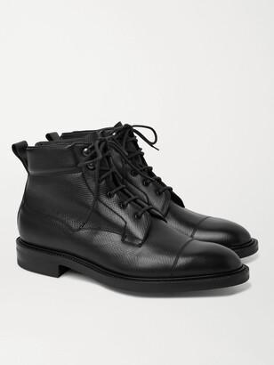 Edward Green Connemara Full-Grain Leather Boots