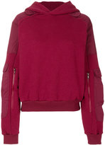 Gmbh sleeve pockets hoodie