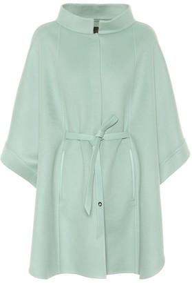 Loro Piana Salzburg leather-trimmed cashmere coat