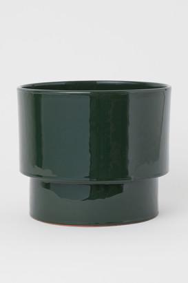 H&M Large ceramic plant pot