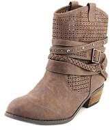 Not Rated Van De Vort Women Round Toe Synthetic Ankle Boot.