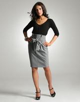 Asos Paperbag Pencil Skirt