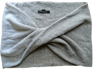 Alexander Wang Grey Cashmere Scarves