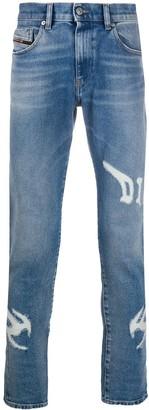 Diesel D-Strukt ripped skinny jeans