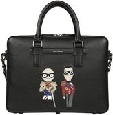 Dolce & Gabbana Stylist Patch Briefcase