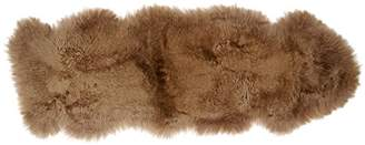 Kaiser 10639 Decorative Skins 1.5 Layers Rug Approx. 175 x 65 cm, Cappuccino, Brown