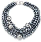 Kenneth Jay Lane Multi-Strand Faux-Pearl Necklace