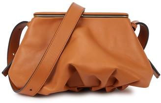 Lutz Morris Blake Brown Leather Cross-body Bag
