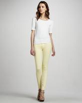 Hudson Nico Super-Skinny Jeans, Banana