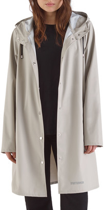 Stutterheim Mosebacke Lightweight Raincoat, Light Sand