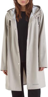 Stutterheim Mosebacke Lightweight Raincoat, Light Sand