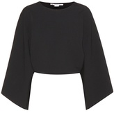 Stella McCartney Long-sleeved Cropped Top