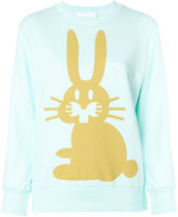 Peter Jensen Rabbit print sweatshirt