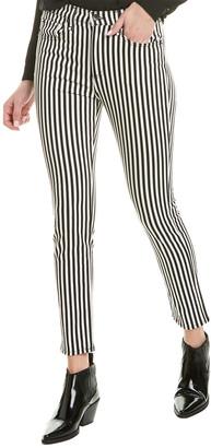 Rag & Bone Oba Port Stripe High-Rise Ankle Skinny Leg