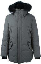 Mackage 'Edward' coat - men - Cotton/Feather Down/Nylon/Racoon Fur - 52