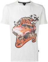Just Cavalli car print T-shirt - men - Cotton - S