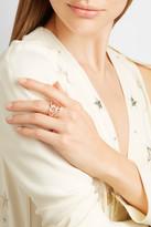 Stephen Webster Thorn 18-karat Rose Gold Diamond Ring - 6 1/2