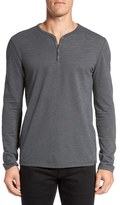 John Varvatos Snap Placket Henley